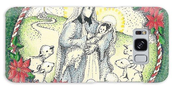 Baby Jesus In Medjugorje Galaxy Case