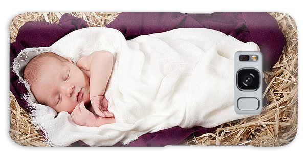 Baby Jesus Nativity Galaxy Case