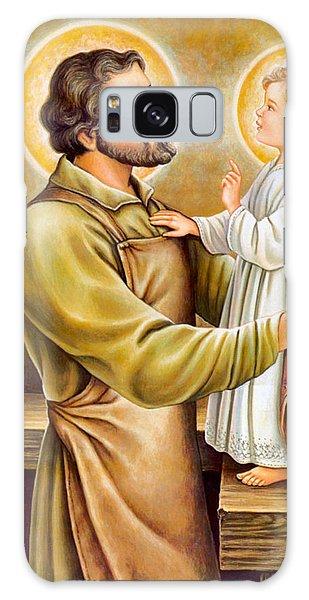 Baby Jesus Talking To Joseph Galaxy Case