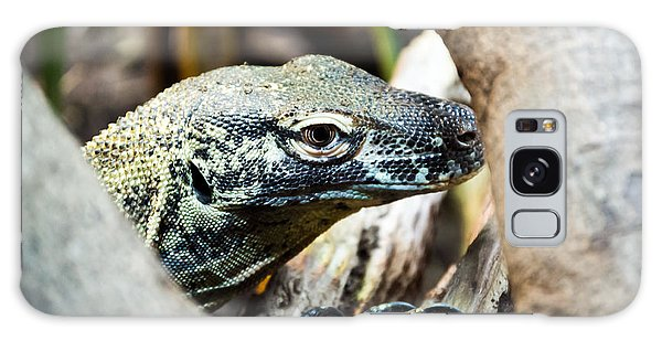 Galaxy Case featuring the photograph Baby Komodo Dragon by Scott Lyons