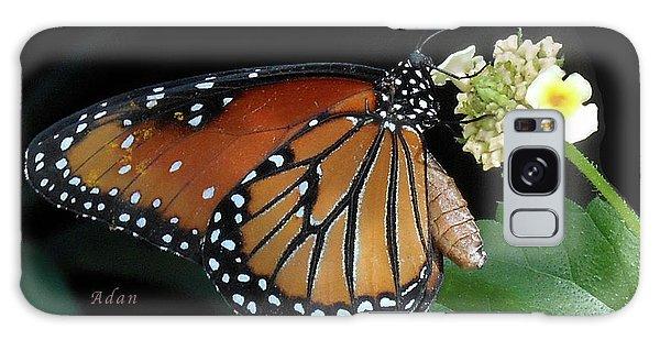 Baby Monarch Macro Galaxy Case