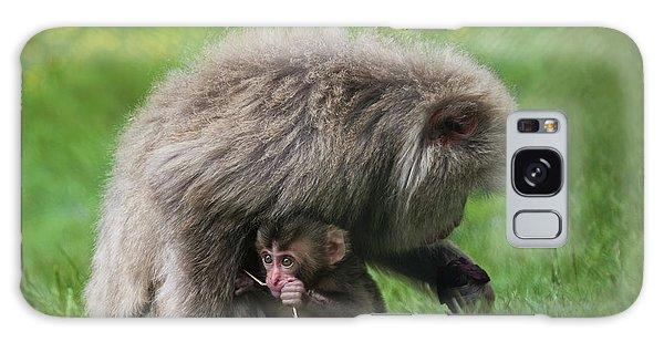 Baby Monkey Galaxy Case