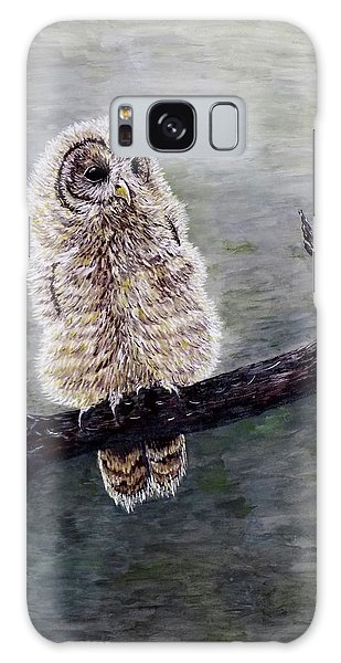 Baby Owl Galaxy Case