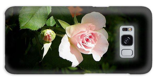 Baby Pink Rose Galaxy Case