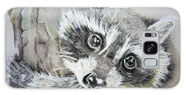 Baby Raccoon Galaxy Case