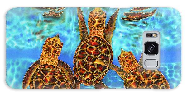 Baby Sea Turtles Galaxy Case