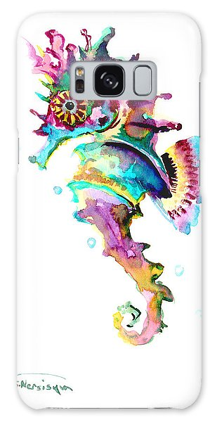 Baby Seahorse Galaxy Case by Suren Nersisyan