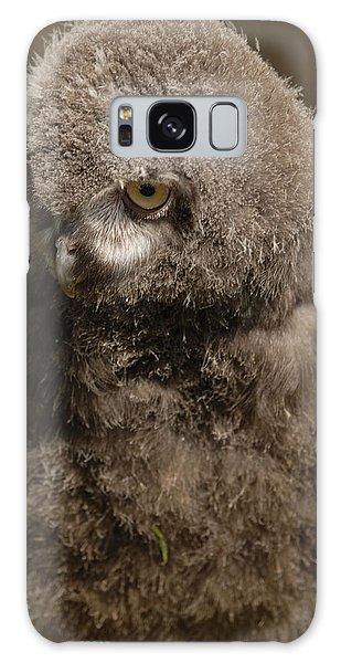 Baby Snowy Owl Galaxy Case