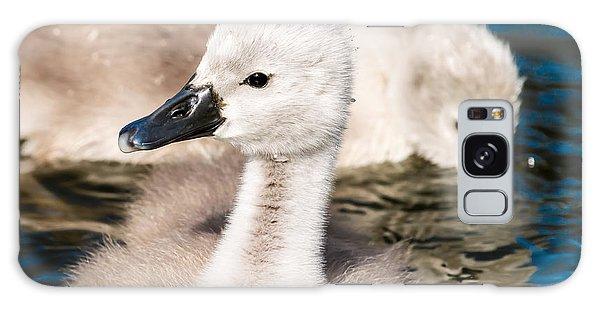Baby Swan Close Up Galaxy Case