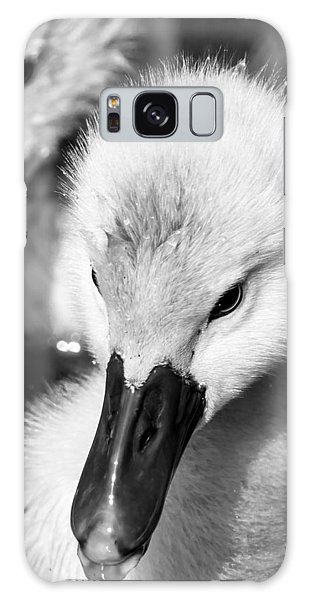 Baby Swan Headshot Galaxy Case