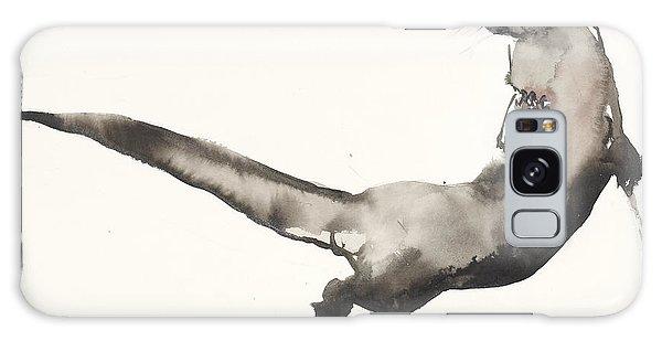 Otter Galaxy Case - Back Awash   Otter by Mark Adlington