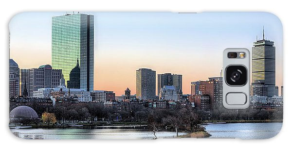 Back Bay Sunrise Galaxy Case by JC Findley