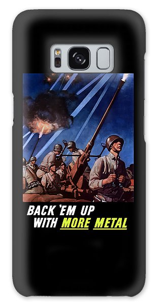Metal Galaxy Case - Back 'em Up With More Metal  by War Is Hell Store