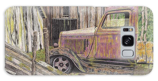 Old Truck Galaxy Case - Back In The Day by Diana Hrabosky