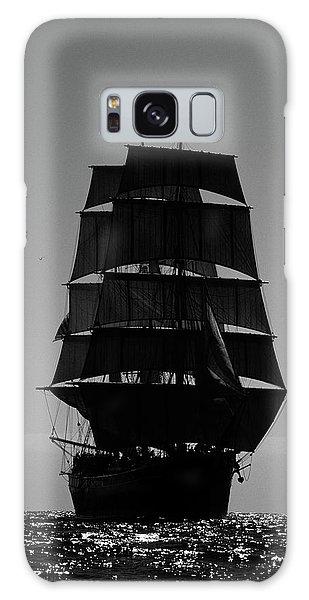 Back Lit Tall Ship Galaxy Case