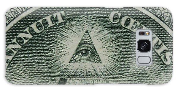 Back Of 1 Dollar Bill Galaxy Case
