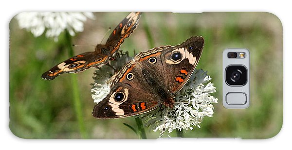 Back To Back Butterflies Galaxy Case