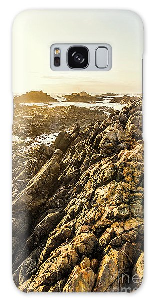 West Bay Galaxy Case - Backpacking A Tropical Sundown by Jorgo Photography - Wall Art Gallery