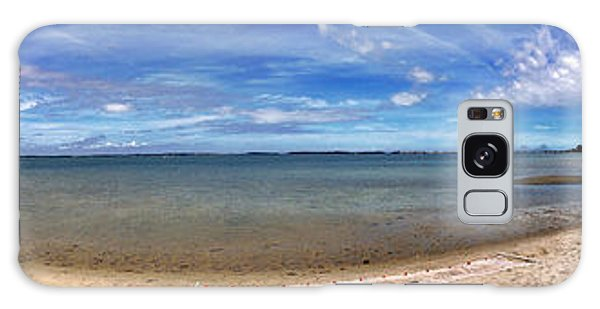 Backwater Bay Pano Galaxy Case