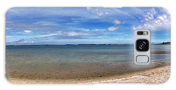 Backwater Bay Pano Galaxy Case
