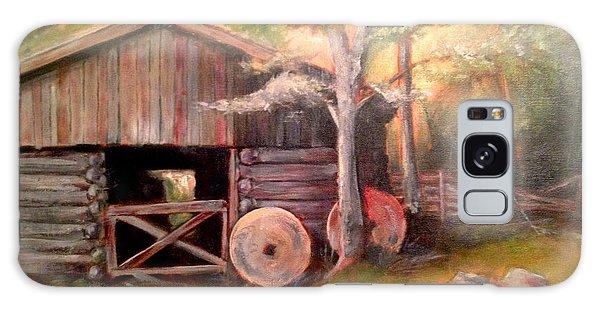 Backwoods Barn Galaxy Case