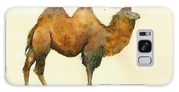 Camel Galaxy S8 Case - Bactrian Camel by Juan  Bosco