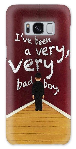 Bad Boy Greeting Card Galaxy Case by Thomas Blood