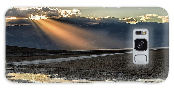 Galaxy Case featuring the photograph Bad Water Basin Death Valley National Park by Michael Rogers