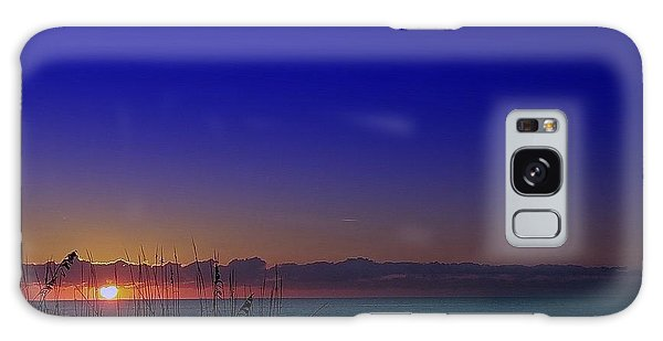 Badblue Sunrise  Galaxy Case