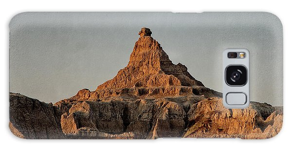 Badlands At Sunrise Galaxy Case
