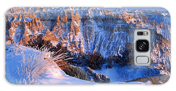 Badlands At Sunset Galaxy Case