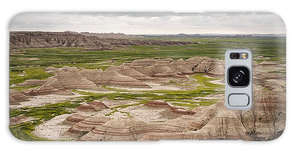 Galaxy Case featuring the photograph Badlands by John Gilbert