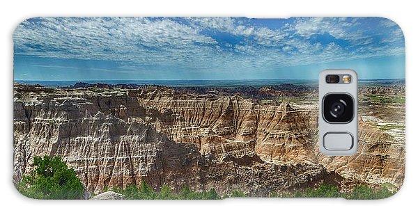 Badlands Landscape Galaxy Case
