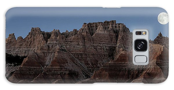 Badlands Moon Rising Galaxy Case