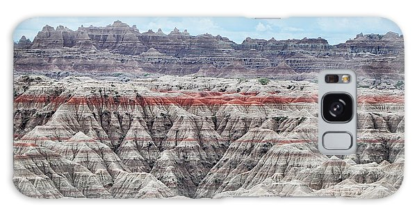 Galaxy Case featuring the photograph Badlands National Park Vista by Kyle Hanson