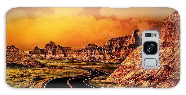 Badlands - South Dakota Galaxy Case