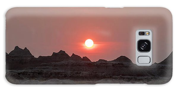 Badlands Sunset Galaxy Case