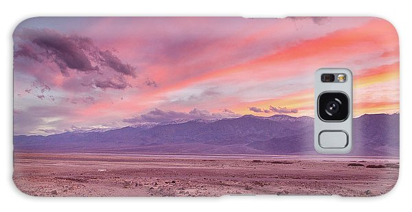 Badwater Sunset Galaxy Case