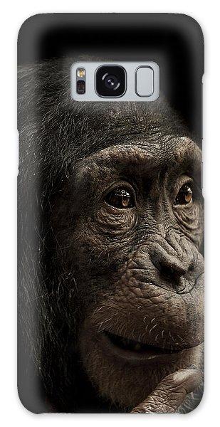 Chimpanzee Galaxy S8 Case - Baffled by Paul Neville