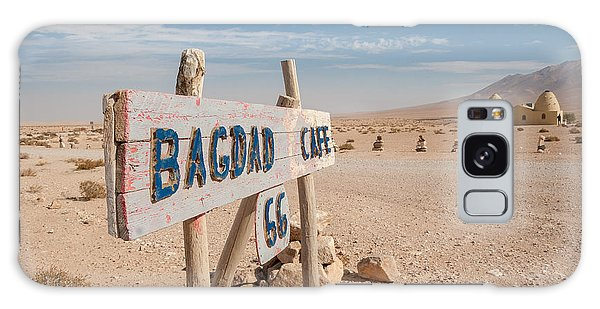 Galaxy Case - Bagdad Cafe Sign by Iordanis Pallikaras