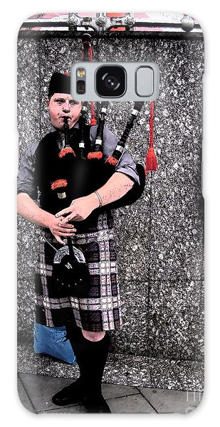 Galaxy Case featuring the photograph Bagpipe by Janelle Dey