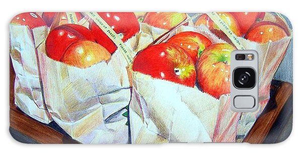 Bags Of Apples Galaxy Case