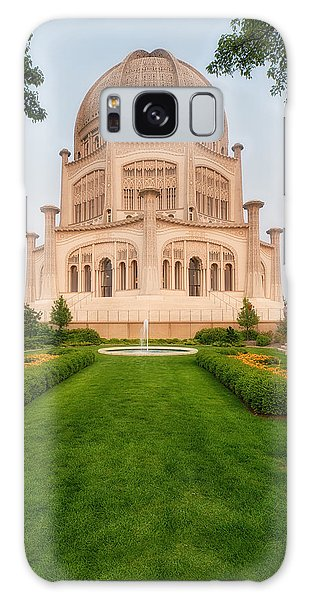 Baha'i Temple - Wilmette - Illinois - Veritcal Galaxy Case