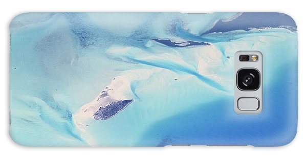 Bahama Banks Aerial Seascape Galaxy Case by Roupen  Baker