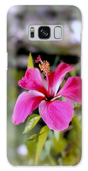 Bahamian Flower Galaxy Case