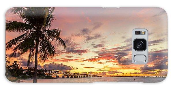 Bahia Honda State Park Sunset Galaxy Case