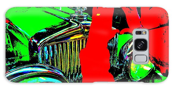 Bahre Car Show II 22 Galaxy Case by George Ramos