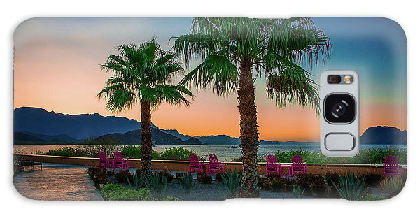 Baja Sunset Galaxy Case