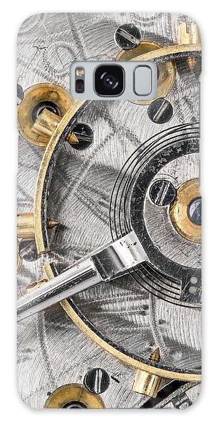 Balance Wheel Of An Antique Pocketwatch Galaxy Case