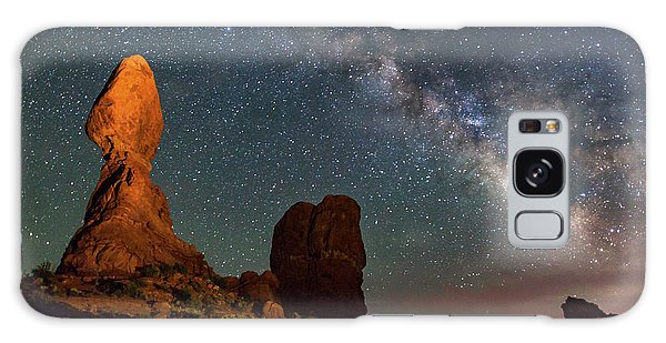 Balanced Rock And Milky Way Galaxy Case